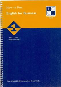 how to pass english for business 1 tg - ISBN: 9781862470651