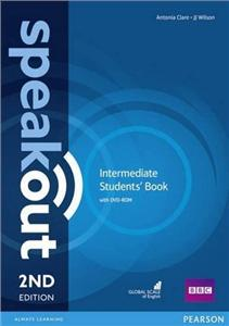 speakout 2nd edition intermediate coursebook with dvd-rom - ISBN: 9781292115948