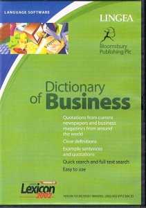 dictionary of business cd-rom - ISBN: 8595125302730