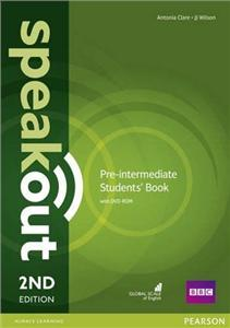 speakout 2nd edition pre-intermediate coursebook with dvd-rom - ISBN: 9781292115979