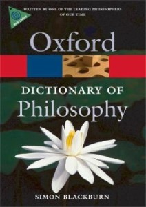 oxford dictionary of philosophy 2008 - ISBN: 9780199541430
