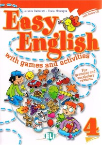 easy english with games and activities 4 z cd - ISBNx: 9788853604415
