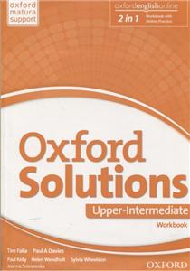 oxford solutions upper-intermediate workbook with online practice pack 2016 - ISBN: 9780194514781