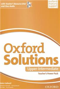 oxford solutions upper-intermediate teachers power pack 2016 - ISBN: 9780194514644