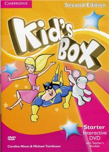 kids box starter interactive dvd ntsc with teachers booklet - ISBNx: 9781107631144