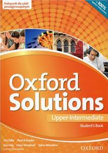 Oxford Solutions Upper-Intermediate Podręcznik 2016