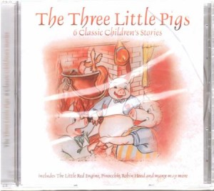 the three little pigs - 6 classic childrens stories płyta cd - ISBN: 5029248148720