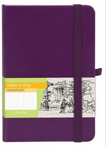 notes a6 romantyzm fiolet linia - ISBN: 5904210019096
