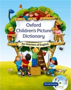 oxford childrens picture dictionary for learners of english with cd - ISBN: 9780194340458