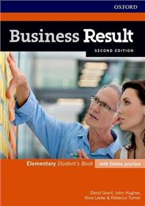 business result 2nd edition elementary students book with online practice - ISBN: 9780194738668