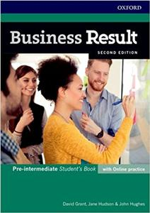 Business Result 2nd Edition Pre-Intermediate Students Book with Online Practice