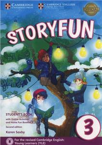 storyfun 3 for movers 2nd edition - 2018 exam students book with online activities  home fun boo - ISBNx: 9781316617151