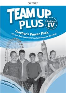team up plus dla klasy iv teachers power pack pl - ISBN: 9780194207379