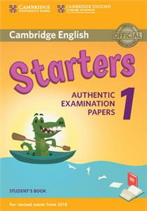 cambridge english  2018 exam starters 1 students book - ISBN: 9781316635896