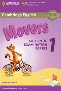 cambridge english  2018 exam movers 1 students book - ISBN: 9781316635902