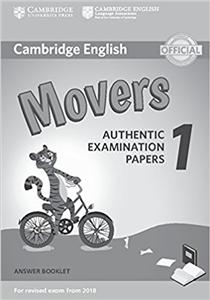 cambridge english  2018 exam movers 1 answer booklet - ISBN: 9781316635940