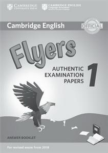 cambridge english  2018 exam flyers 1 answer booklet - ISBN: 9781316635957