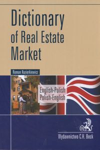 dictionary of real estate market - ISBNx: 9788374837026
