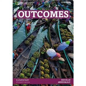 outcomes 2nd edition elementary students book  dvd - ISBN: 9781305651913