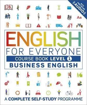 english for everyone business english level 1 course book  a complete self study programme - ISBN: 9780241242346