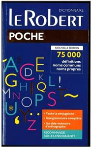 dictionnaire le robert poche - ISBN: 9782321010562