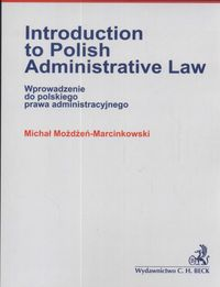 introduction to polish administrative law - ISBNx: 9788325503734