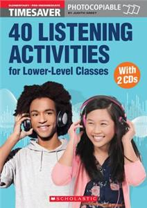 40 listening activities for lower-level classes książka  audio cds - ISBNx: 9781910173374