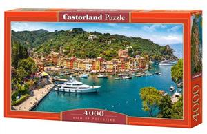 puzzle 4000 el c 400201 2 widok na portofino view of portofino - ISBN: 5904438400201