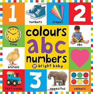 colours abc numbers - ISBNx: 9781783412020