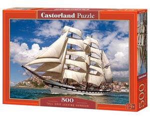 puzzle 500 tall ship leaving harbour - ISBN: 5904438052851
