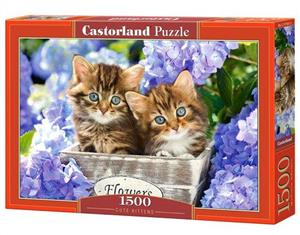 puzzle 1500 cute kittens - ISBN: 5904438151561