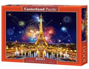 puzzle 1000 elementów c-103997 glamour of the night paris - ISBN: 5904438103997