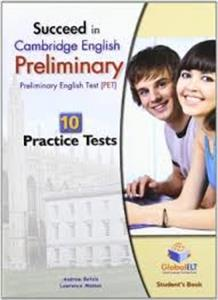 succeed in cambridge pet 10 practice tests students book - ISBN: 9781904663232