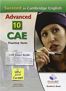 succeed in cambridge english advanced cae 10 practice tests sb - ISBN: 9781781641521