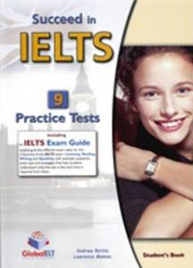 succeed in ielts 9 practice tests students book - ISBN: 9781904663331