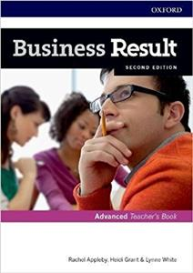 business result 2nd edition advanced teachers book and dvd - ISBNx: 9780194739115