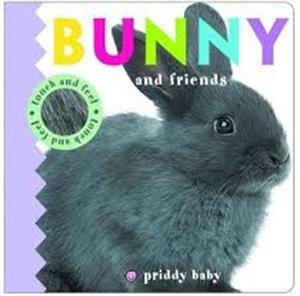 bunny  friends touch and feel - ISBN: 9781783415458