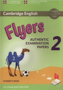 cambridge english flyers 2 students book - ISBN: 9781316636251