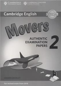 cambridge english movers 2 answer booklet - ISBN: 9781316636275