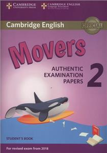 cambridge english movers 2 students book - ISBN: 9781316636244