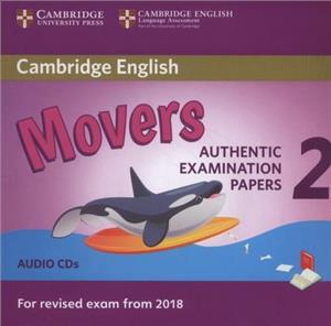 cambridge english movers 2 audio cd - ISBN: 9781316636305