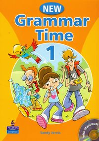 new grammar time 1 students book with milti-rom - ISBN: 9781405866972