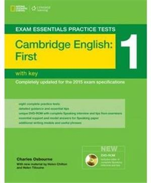 exam essentials cambridge first practice test 1 no key  multi-rom - ISBN: 9781285744940