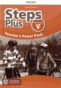 steps plus dla klasy v teachers power pack pl - ISBN: 9780194206624