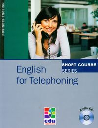 english for telephoning students book  cd - ISBNx: 9788361059127