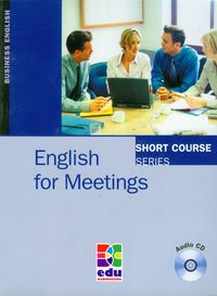 english for meetings students book  cd - ISBNx: 9788361059165