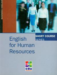 english for human resources - ISBNx: 9788361059929