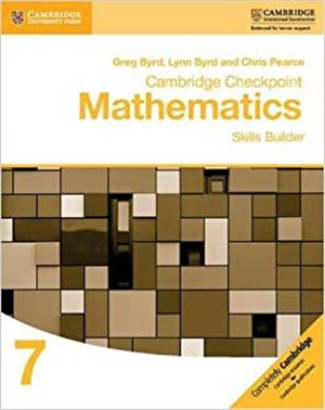 cambridge checkpoint mathematics skills build - ISBN: 9781316637371