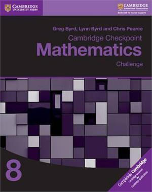 cambridge checkpoint mathematics challenge 8 - ISBN: 9781316637425