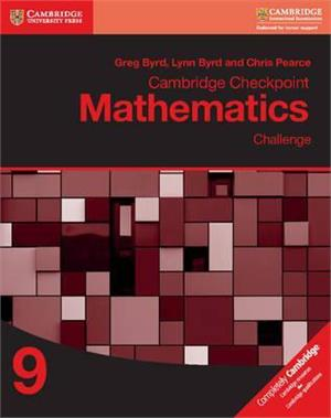 cambridge checkpoint mathematics challenge workbook 9 - ISBN: 9781316637432